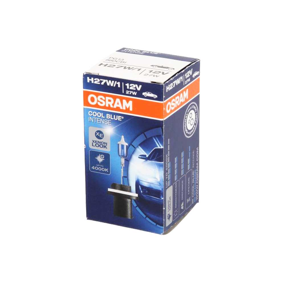 Крушка OSRAM, H27W/1, COOL BLUE INTENSE, 12V, 27W, PG13, ОСНОВНИ СВЕТЛИНИ