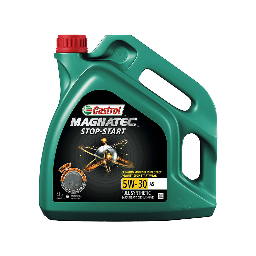 Моторно Масло, CASTROL, 5W-30, A5, MAGNATEC, STOP-START, 4 литра